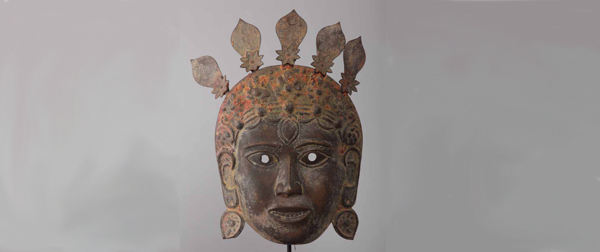 Masque-Newar--(Asie-Nepal)