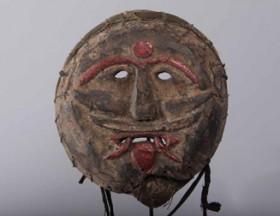 Masque-Newar-Dan-(Asie-Nepal)